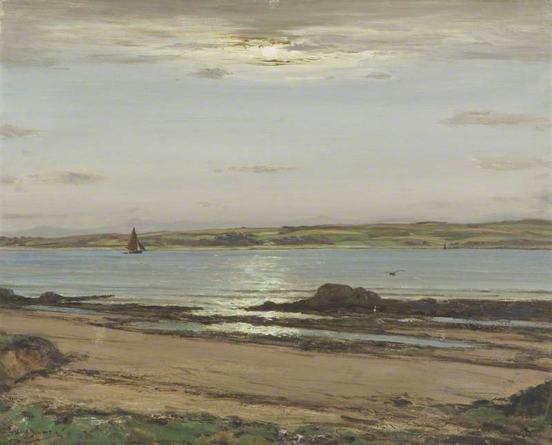 Summer Moonlight, Firth of Clyde