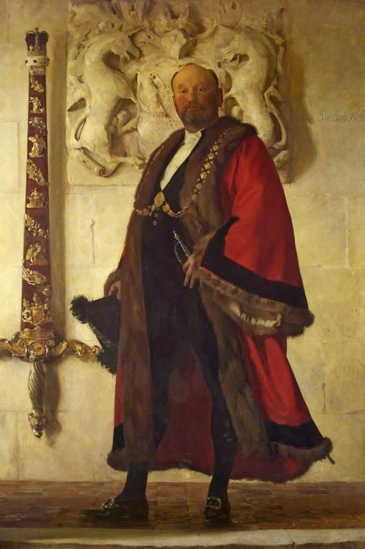 Alderman Sir John Swaish (1852–1931), Lord Mayor (1913–1915)