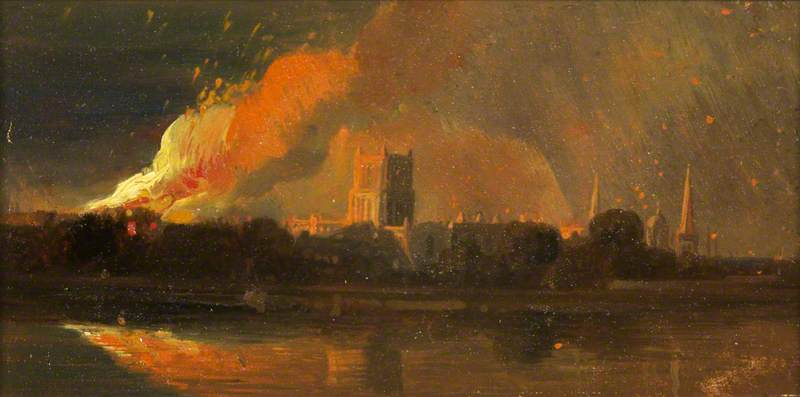 Bristol Riots: The Burning of the Bishop's Palace