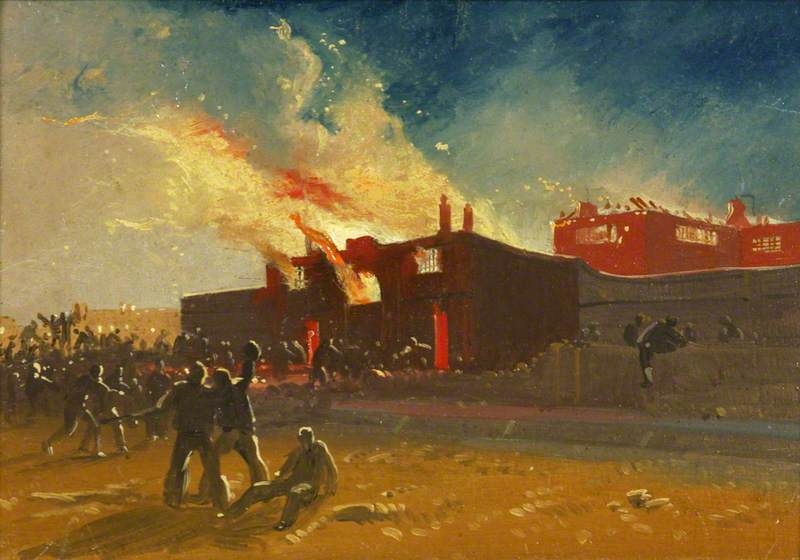 Bristol Riots: The Burning of Lawford's Gate Prison