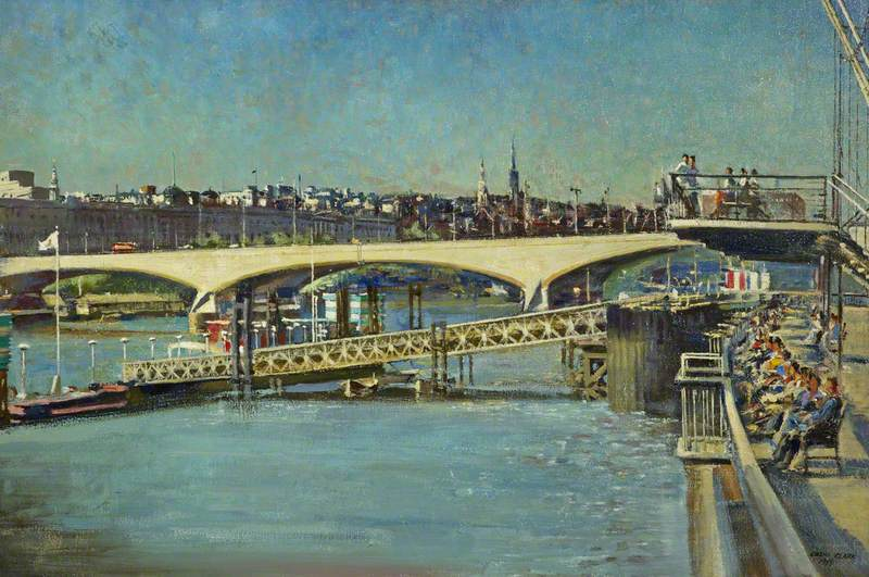 Somerset House, Waterloo Bridge and South Bank