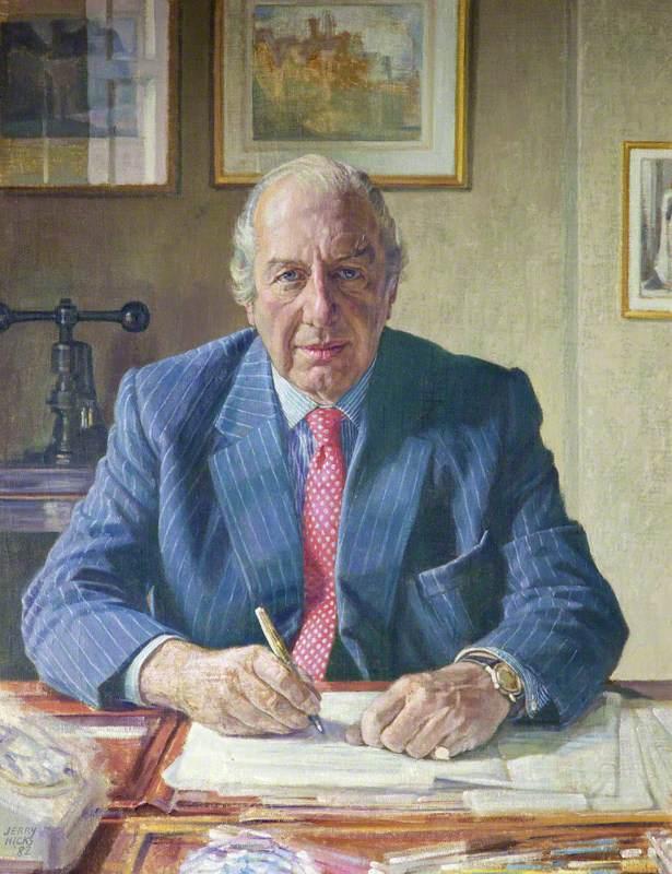 John Esmond Cyril Clarke, Master (1956), Treasurer (1969–1982)