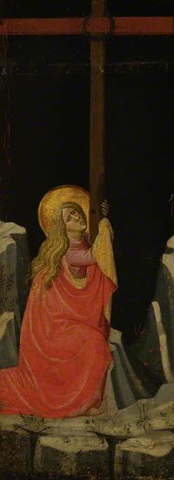 Mary Magdalene Embracing the Cross