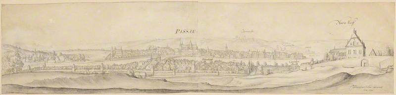 A View of Passau on the Inn (from the South)