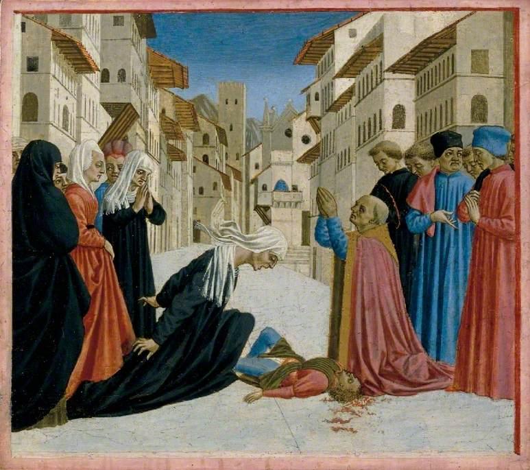 A Miracle of Saint Zenobius