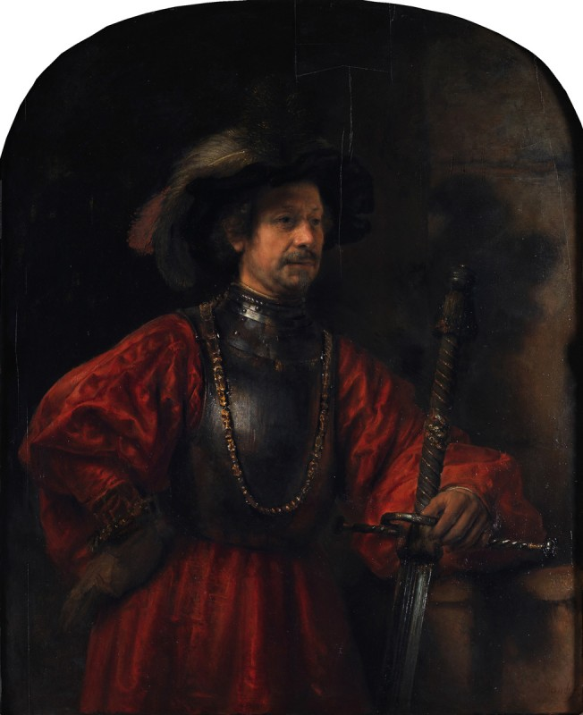 Portrait of a Man in Military Costume