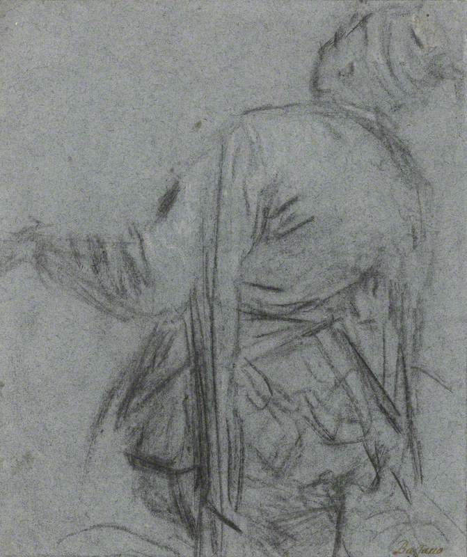 Study of a Man-Servant, Seen from Behind