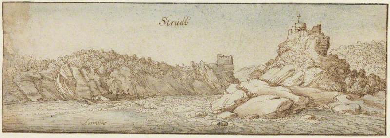 A View of Struden on the Danube