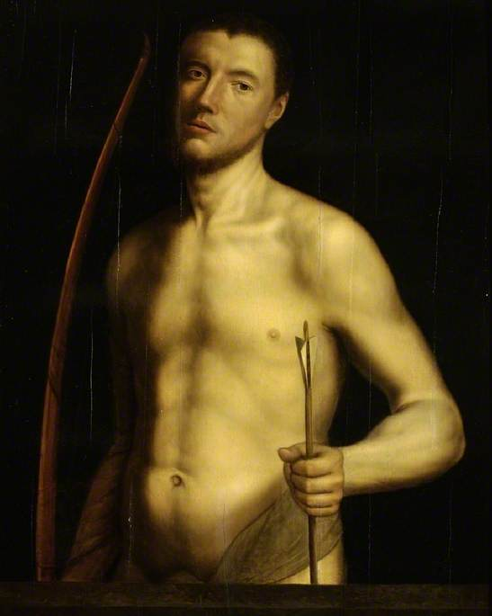 Portrait of a Man as Saint Sebastian