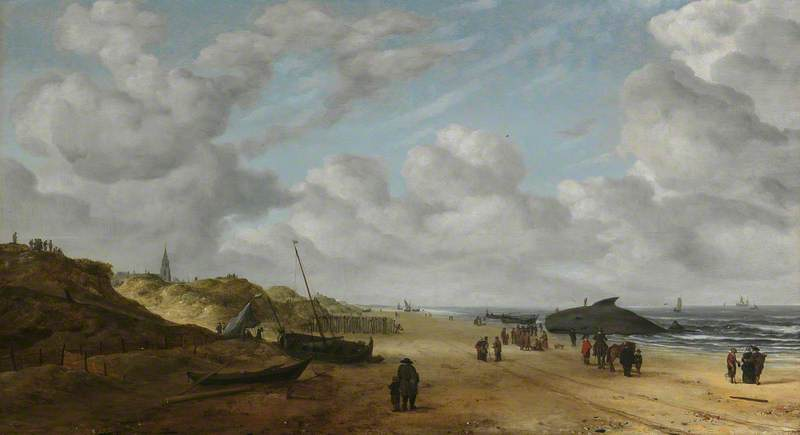 View of Scheveningen Sands
