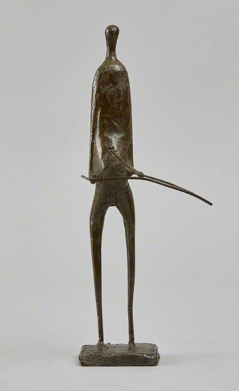 Standing Figure: Girl with a Stick