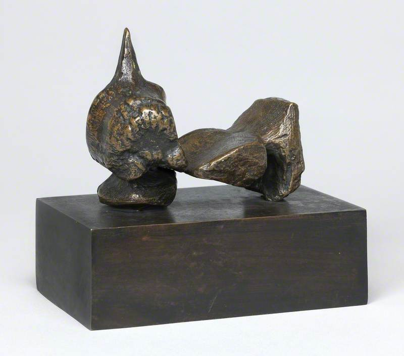 Reclining Figure: Maquette No. 5