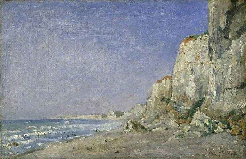 Cliffs near Dieppe