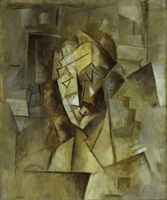 Cubist Head (Portrait of Fernande)