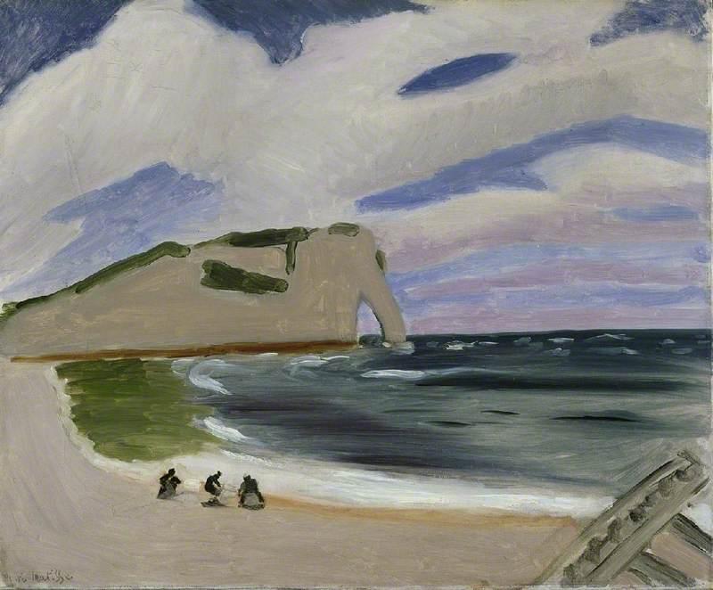 Women on the Beach, Etrétat