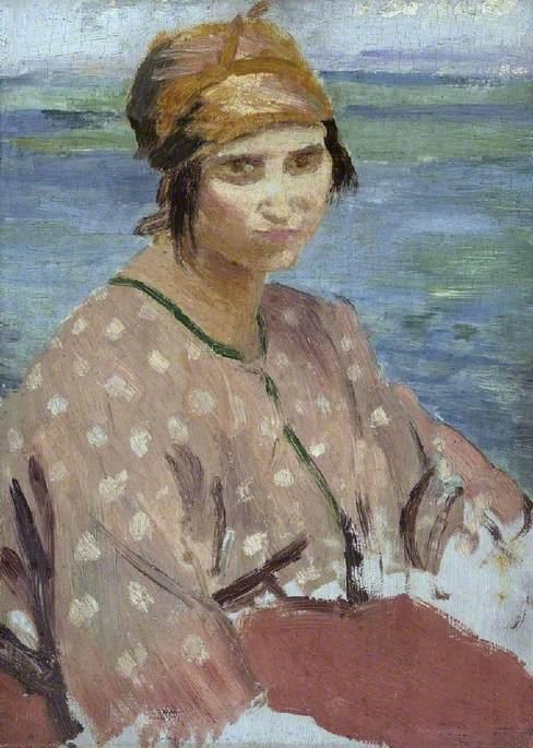 Dorelia Wearing a Turban