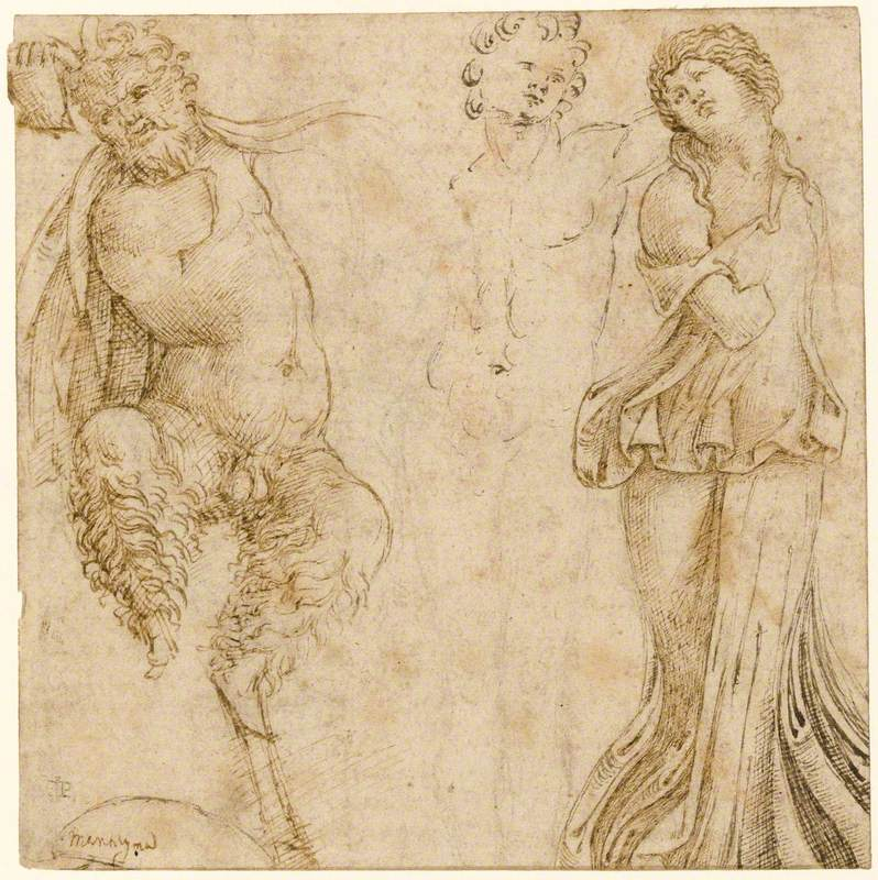 Study after an Antique Relief