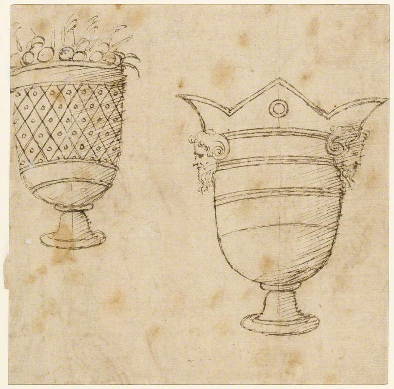 Two Designs for Ornamental Vases