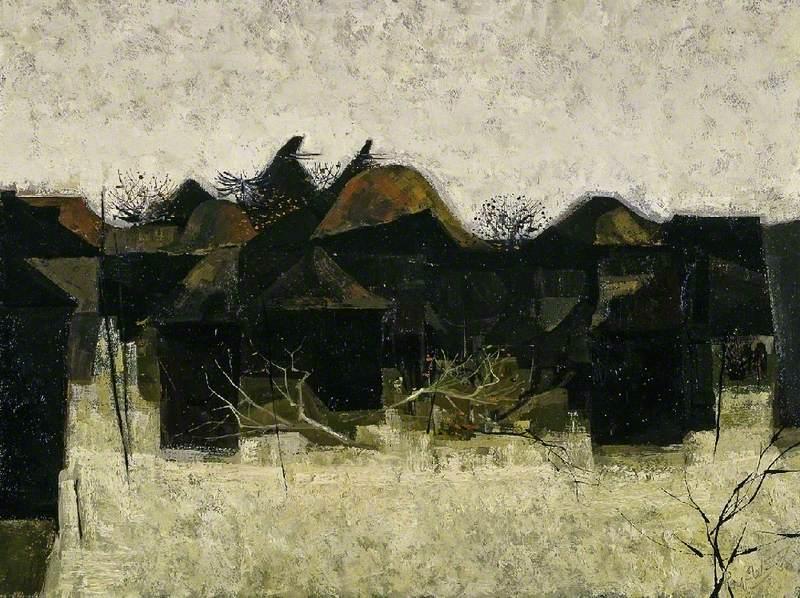Dusk, the Outbuildings