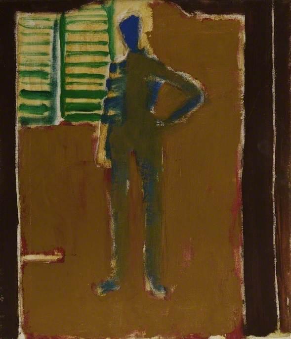 Mirror Landscape, Self Portrait