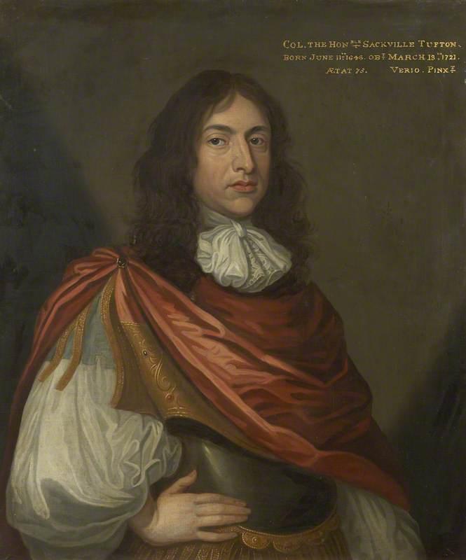 Colonel the Honourable Sackville Tufton (1646–1721)