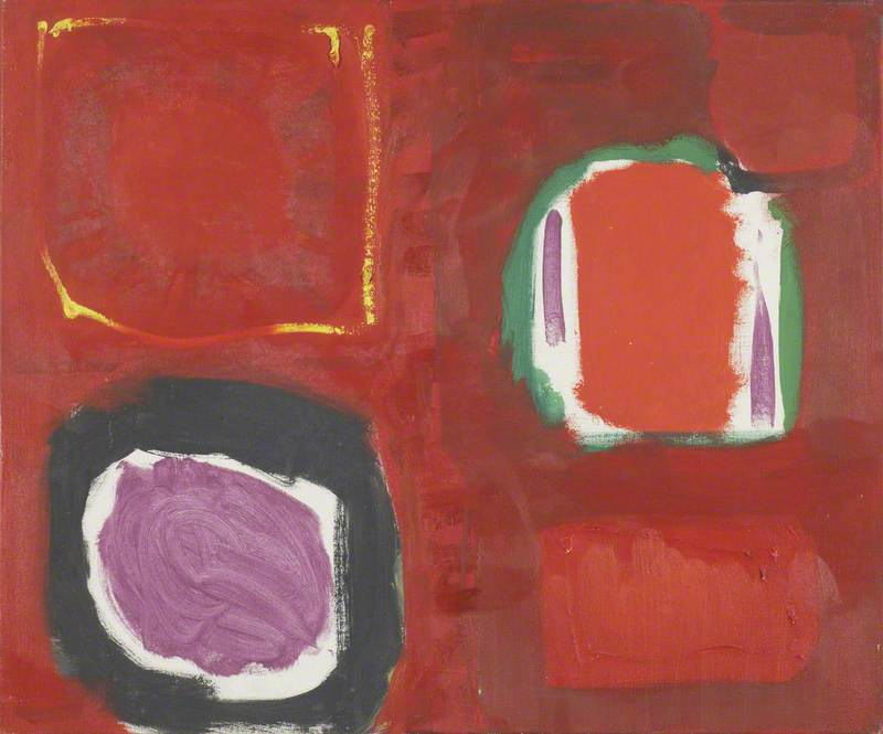 Red Painting: October 1959