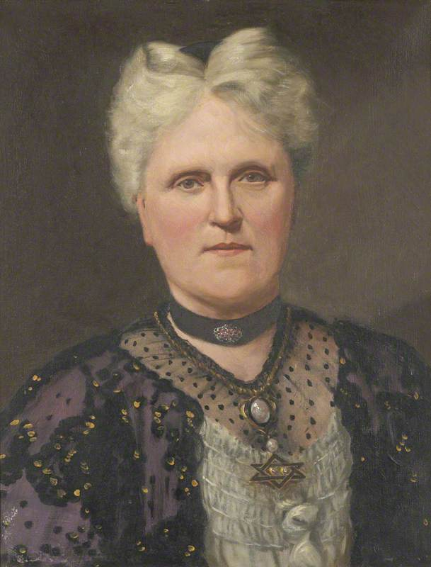Catherine Sarah Fothergill, née Smirthwaite (1850–1925)