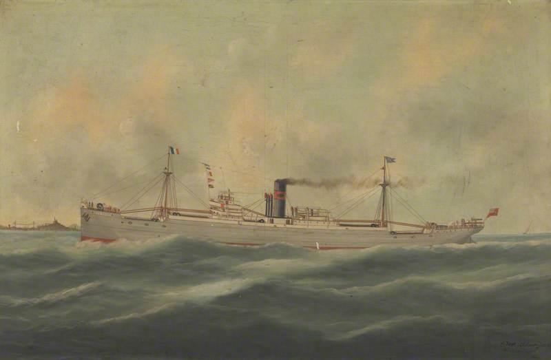 Steamship 'Ferrona'
