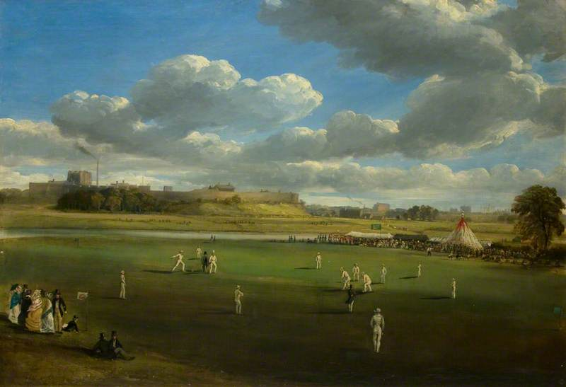 Cricket Match at Edenside, Carlisle