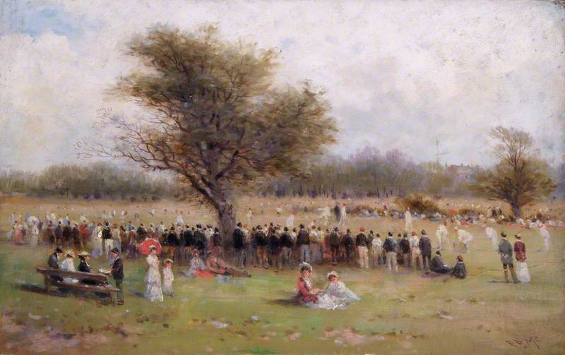 The Cricket Match, Gospel Oak Fields