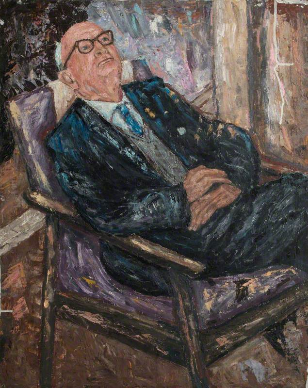 Councillor Tom Barker, Mayor of St Pancras, London (1959)
