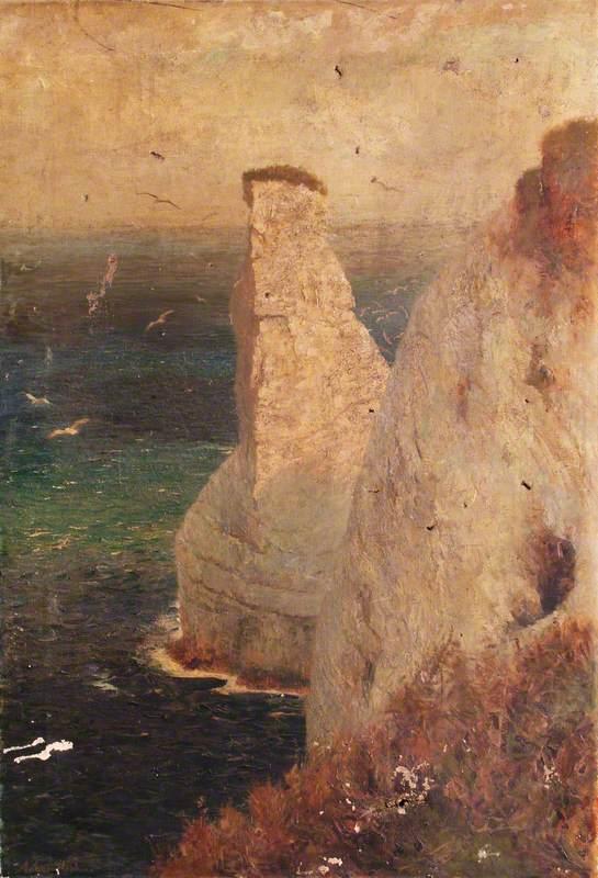 Seascape with Coastal Rocks