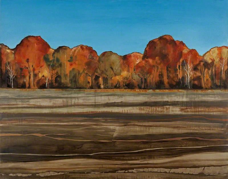 Horizon with Trees