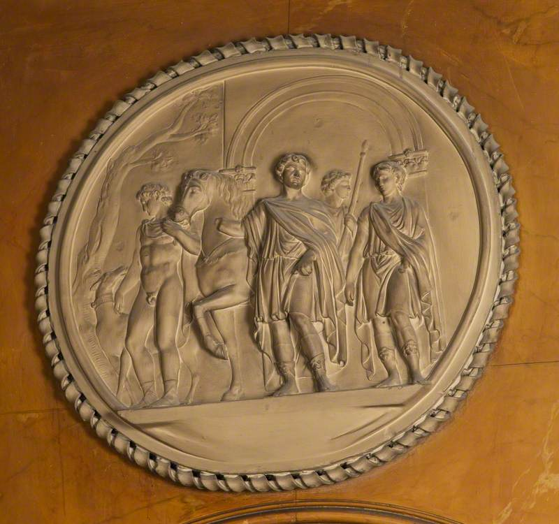 Trajan Going to the Chase
