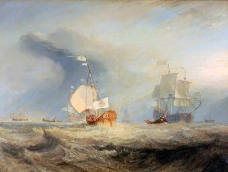 Van Tromp's Barge Entering the Texel, 1645