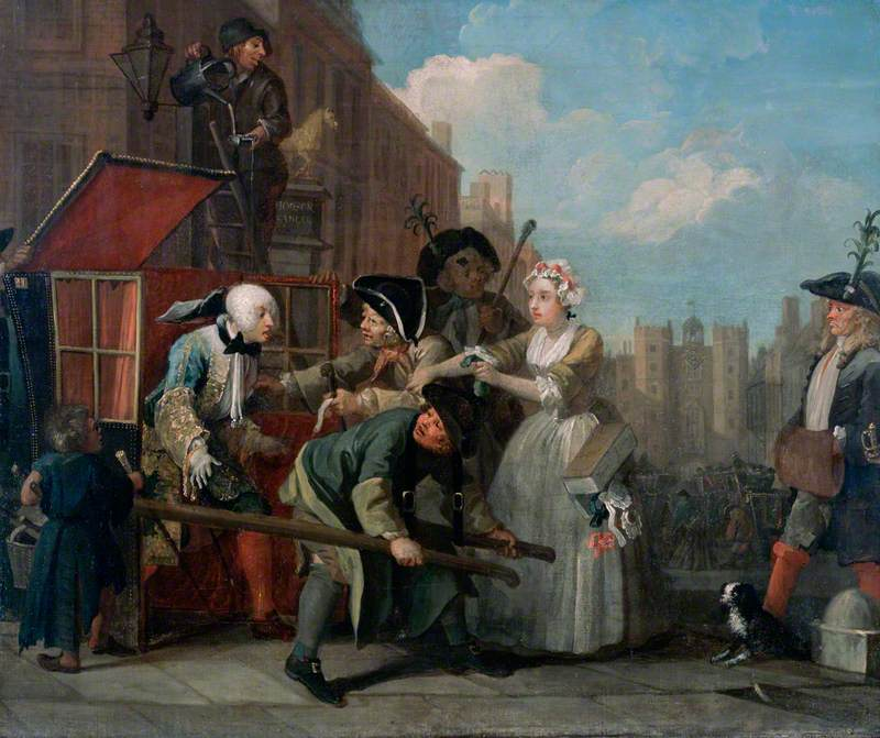 A Rake's Progress: 4 – The Rake Arrested, Going to Court