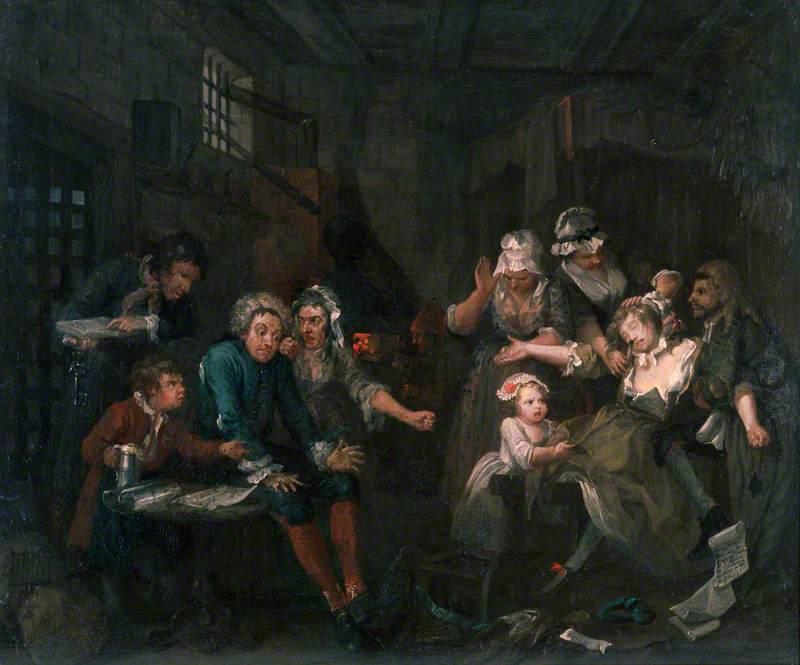 A Rake's Progress: 7. The Rake in Prison