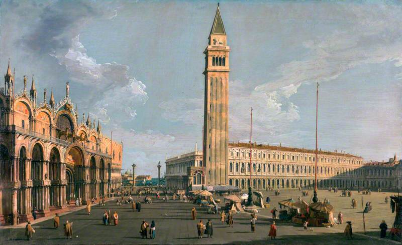 The Piazza di San Marco, Venice