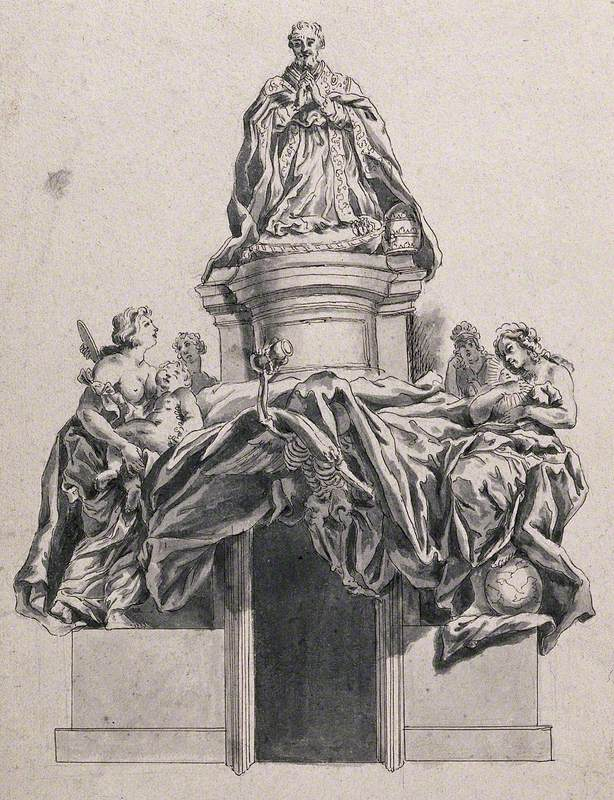 The Tomb of Pope Alexander VII (1599–1667)