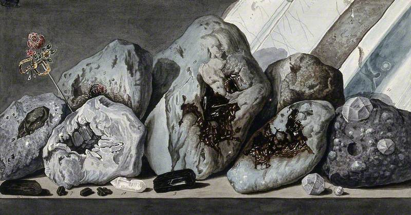 Stones or Crystals from Mount Vesuvius
