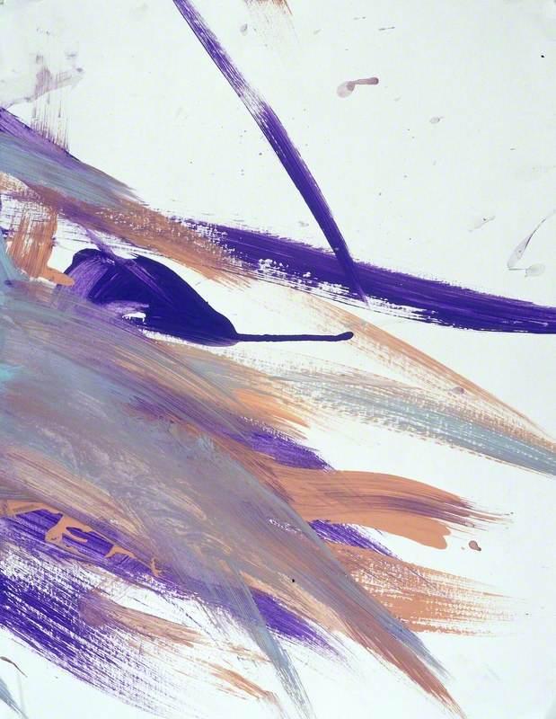 Purple, Orange and Grey Streaks