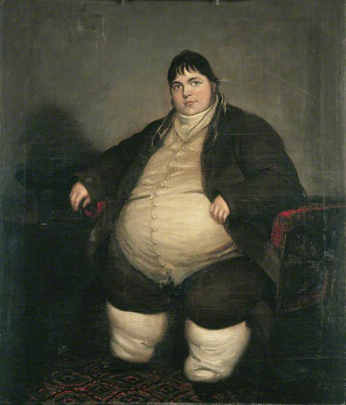 Daniel Lambert (1770–1809), Weighing almost 40 Stone