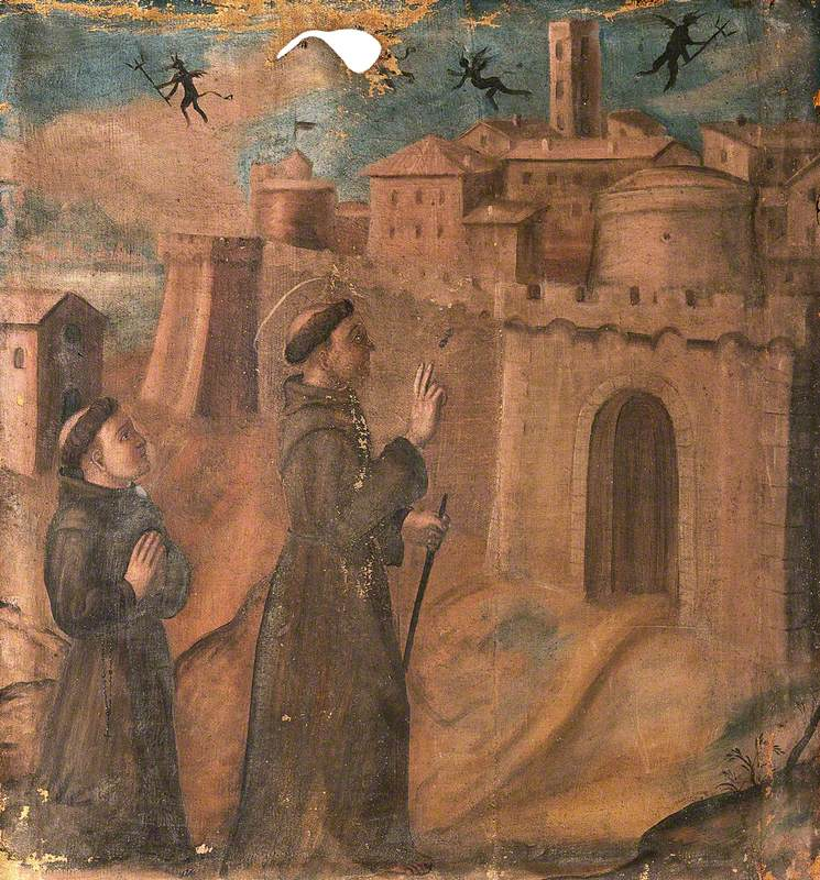 Saint Francis Expelling the Devils