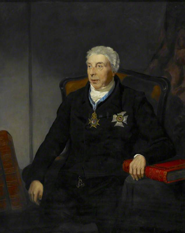 Sir Frederick Augusta Barnard (1743–1830), Librarian to George III
