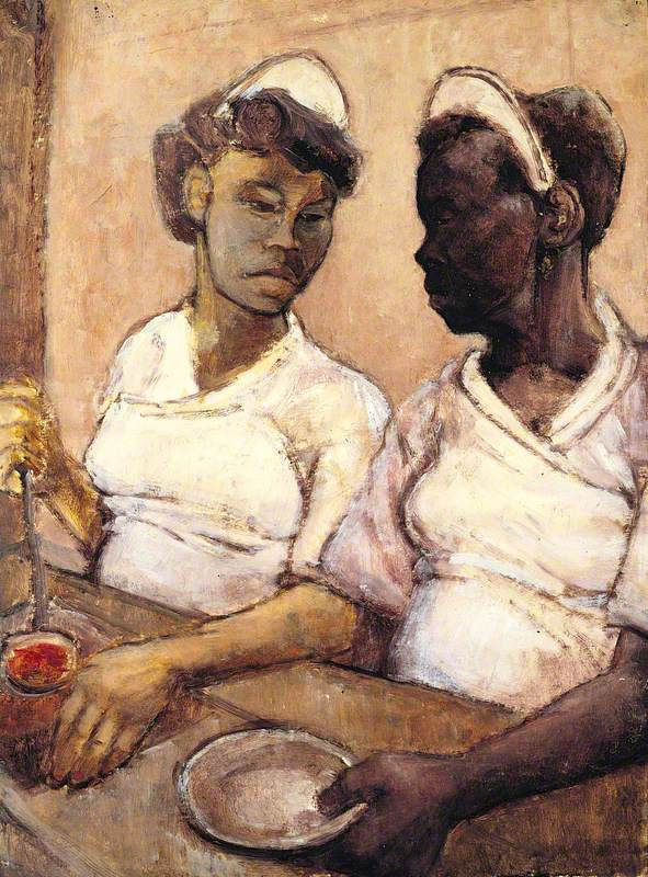 West Indian Waitresses