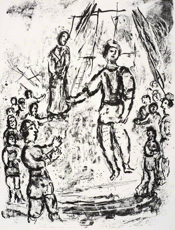 The Boatswain Argues with Two of the Gallants