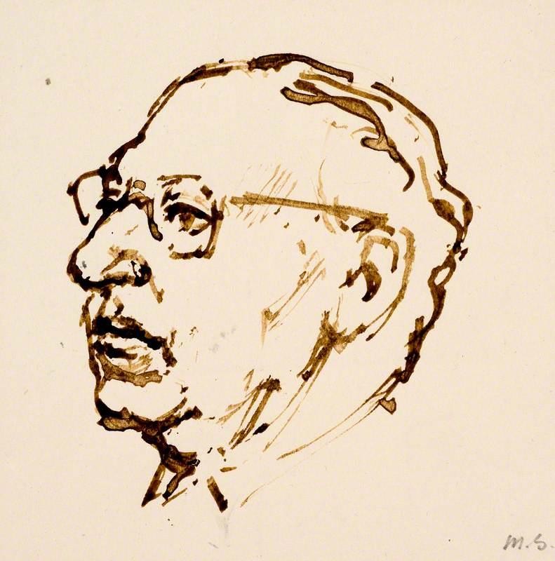 Head of Stravinsky (1882–1971)