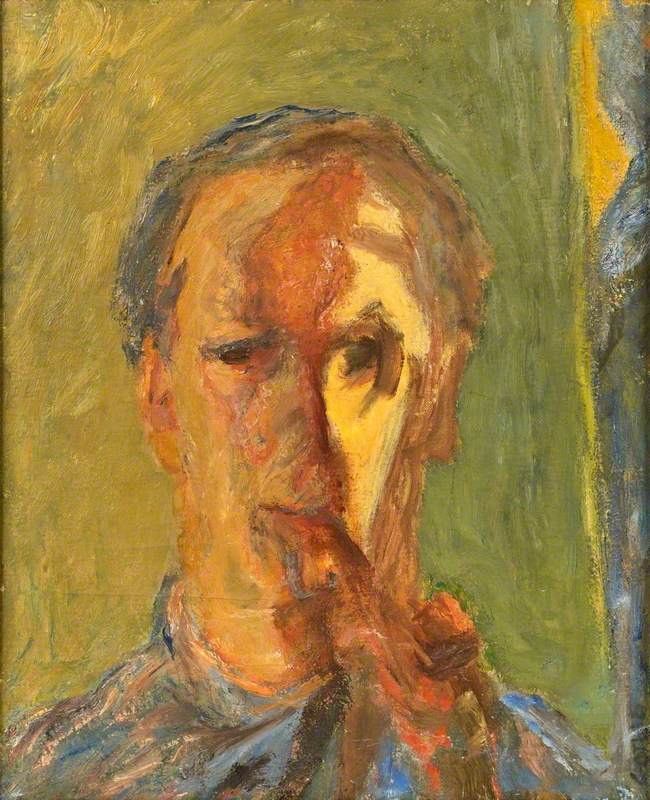 Self Portrait with Pipe