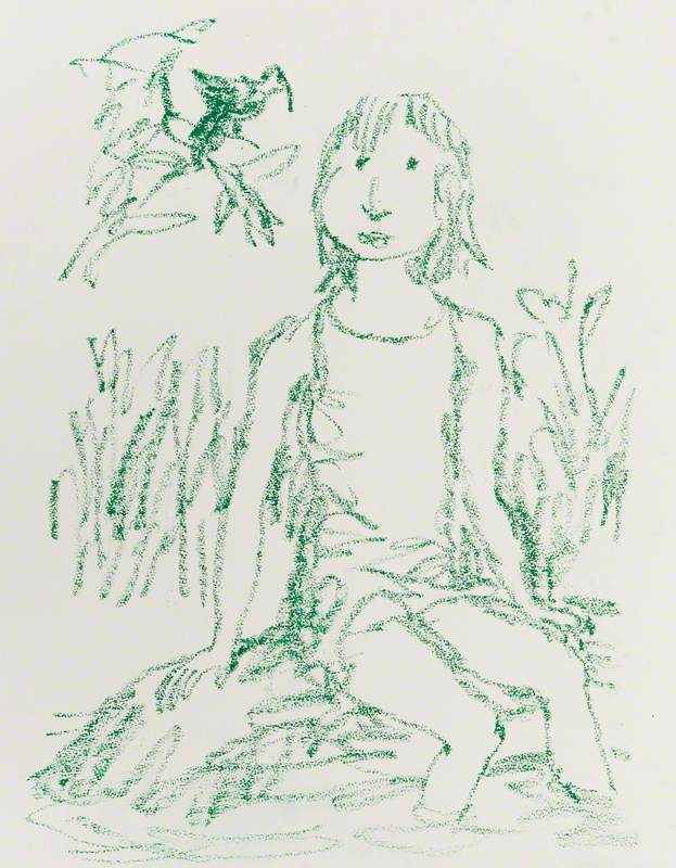 Children with Birds & Dogs #3