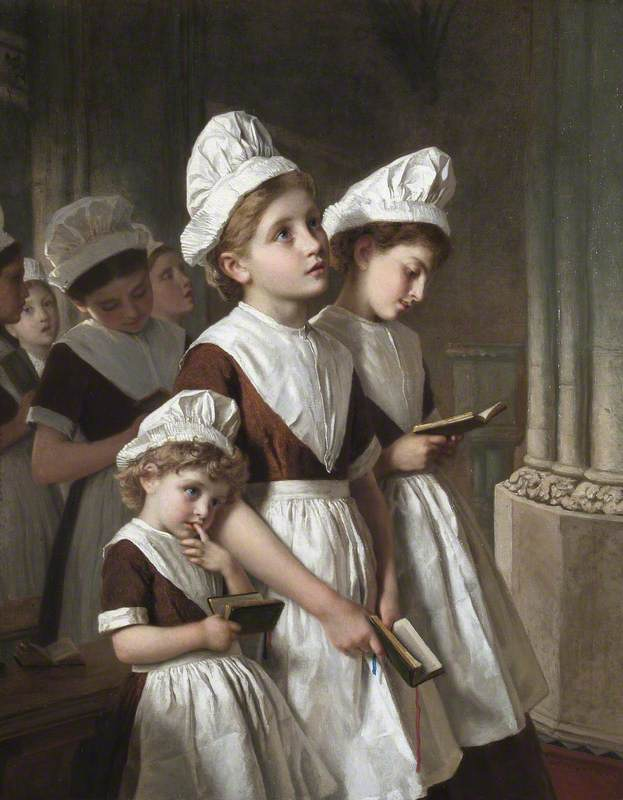Foundling Girls in the Chapel